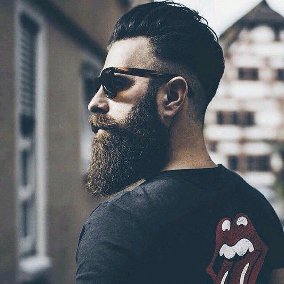 """Мужская стрижка + укладка + оформление бороды и усов/детская стрижка в барбершопе """"Beard Club"""" за 27,50 руб."""